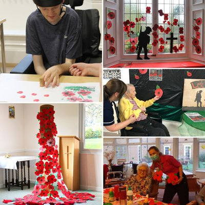 Heartfelt displays to commemorate Remembrance Day