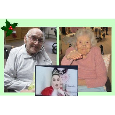 Festive show beamed live to our residents