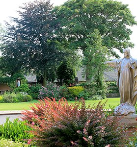 Holy-Cross-Sunderland-Staff-garden-Nursing-Care-Home
