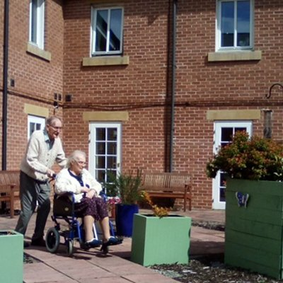 Residents who are a married couple at St Catherines Nursing Home