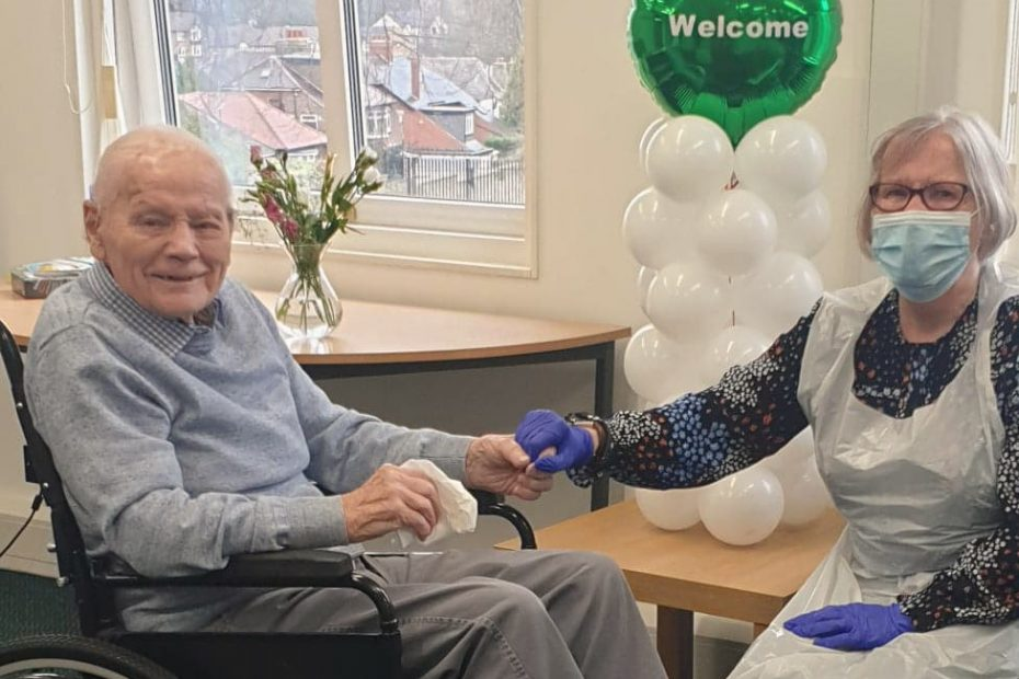 St Catherine's Nursing Home Hand Hold Visit