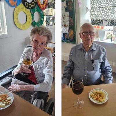 Maureen and Fr Alec